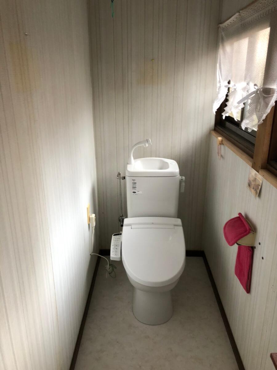 府中市高木町 S様邸トイレ改修工事