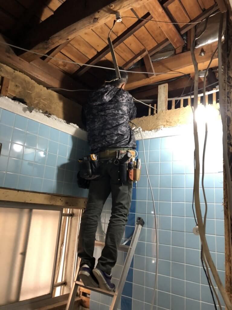 福山市多治米町K様邸 浴室改修工事