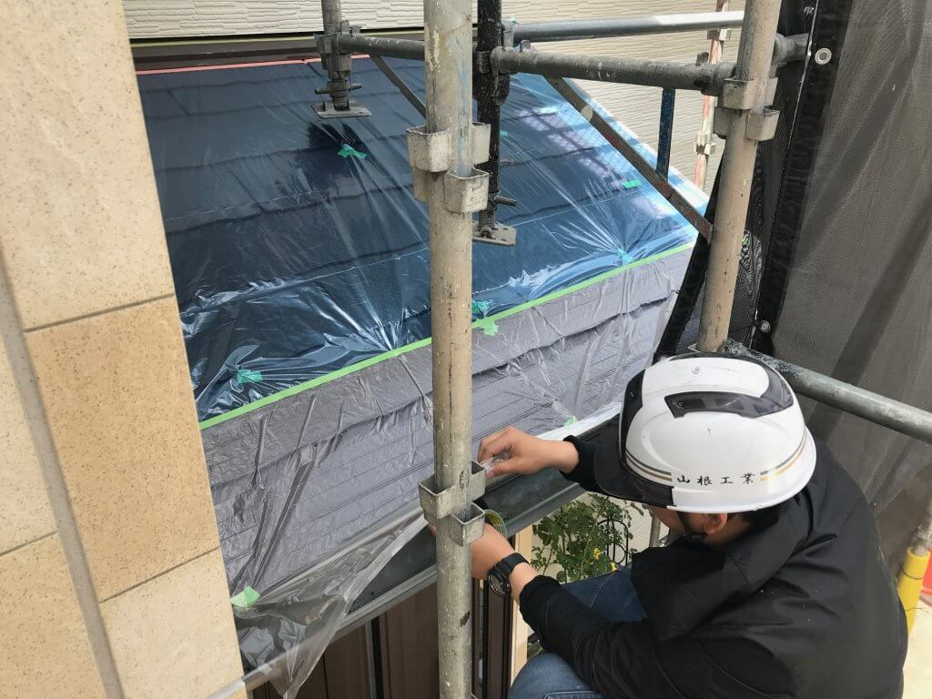 福山市駅家町 N様邸外壁塗装工事