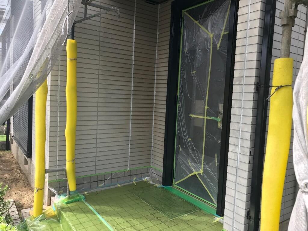福山市明王台 H様邸外壁塗装工事