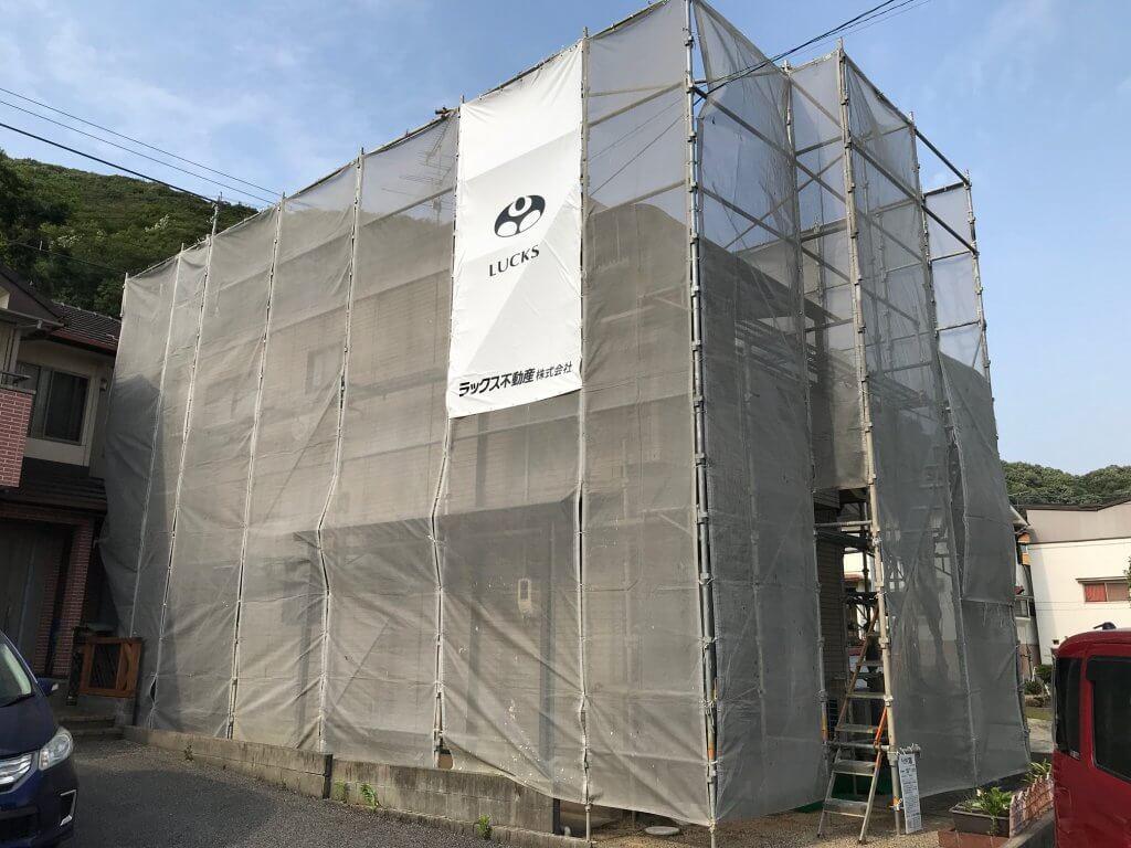 尾道市尾崎本町 O様邸外壁塗装工事