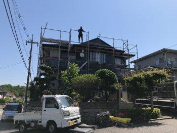 福山市明王台 N様邸外壁塗装工事