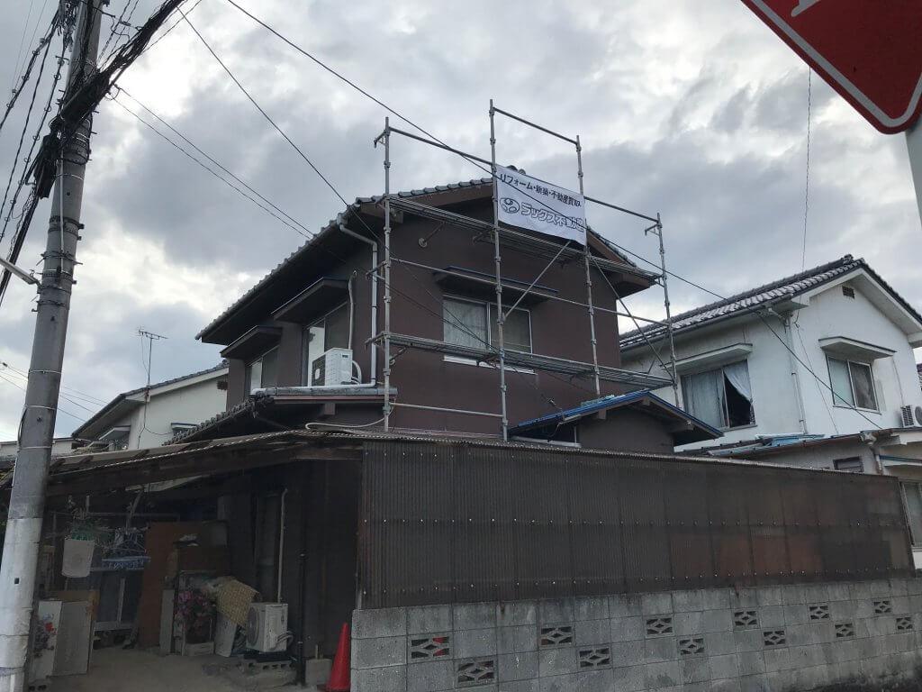 福山市駅家町K様邸外壁補修工事