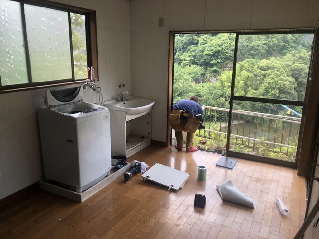 府中市H様邸 浴室新設工事